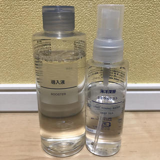 ムジルシリョウヒン(MUJI (無印良品))の無印良品 導入液 ミネラルミスト(ブースター / 導入液)