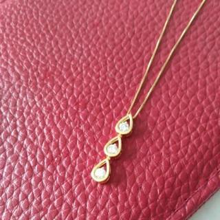 ジュエリーツツミ(JEWELRY TSUTSUMI)の極美品!k18 0、5カラットダイヤモンドネックレス(ネックレス)