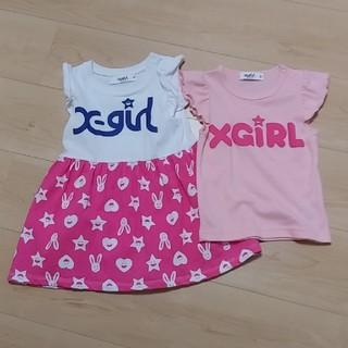 エックスガールステージス(X-girl Stages)のエックスガール(Tシャツ/カットソー)