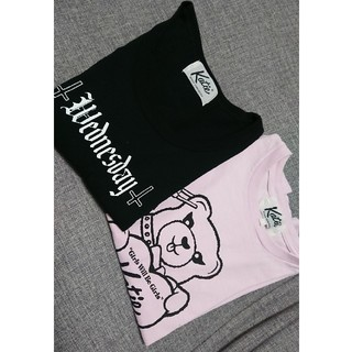 ケイティー(Katie)のkatie Tシャツ二枚セット(Tシャツ(半袖/袖なし))