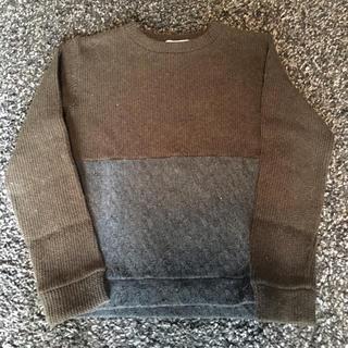 イチミリ(ichi-miri)のイチミリ 切替 ニット セーター バイカラー メンズ(ニット/セーター)