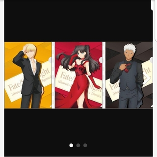 Fate ×LAWSONフェイト×ローソンフェイトクリアファイル全3種(クリアファイル)