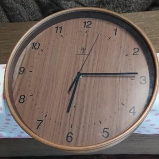 電波式掛け時計 木目調(掛時計/柱時計)