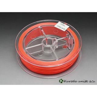 【送料無料】 フライフィッシング用バッキングライン赤30lbs 100yard (釣り糸/ライン)