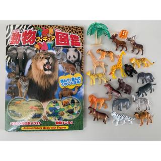 動物フィギュア図鑑 動物増量(絵本/児童書)