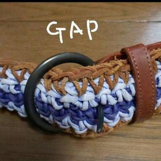 ギャップ(GAP)の(セール♪)GAPギャップ 革使用メッシュベルト(ベルト)