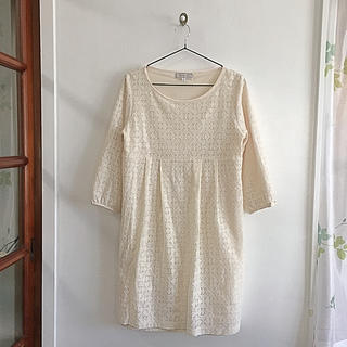 クチュールブローチ(Couture Brooch)のクチュールブローチ 刺繍ワンピース(ひざ丈ワンピース)