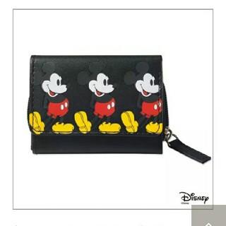 X-girl - mini2月号付録「ミッキーマウスコンパクト財布」