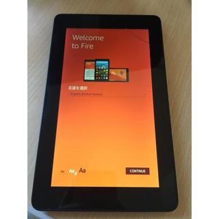Amazon Fire タブレット 7 第5世代 8GB ブラック kindle(タブレット)