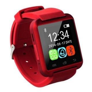 スマートウォッチ Bluetooth 4.0 red レッド