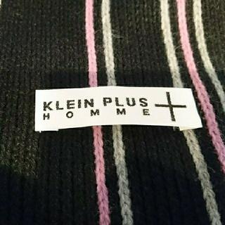 クランプリュス(KLEIN PLUS)のマフラー  クランプリュスオム  未使用(マフラー)