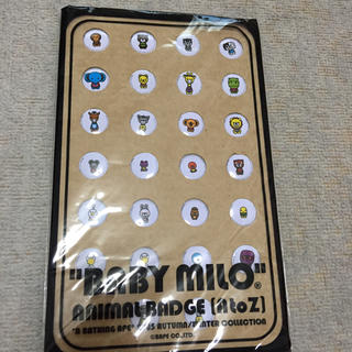 A BATHING APE - baby milo 缶バッジ animal エイプ