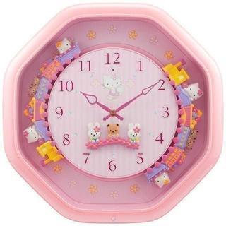 ハローキティM766B 定価¥15,000-(税別)新品(掛時計/柱時計)