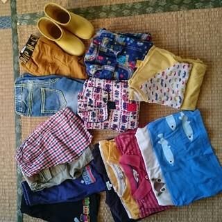 サンカンシオン(3can4on)の子供服まとめ売り14点 90~110&長靴(その他)