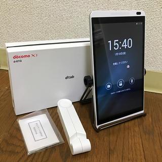 NTTdocomo - ドコモ タブレット dtab d-01g 美品