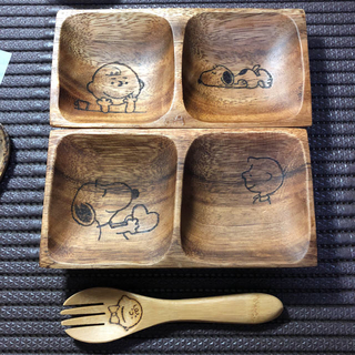 木のお皿 好きな絵を入れ 世界に一つだけ(食器)
