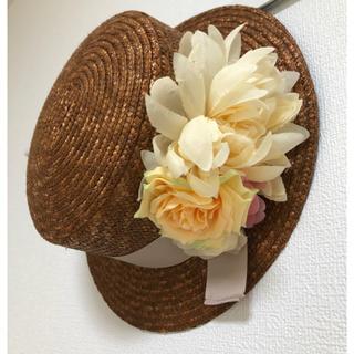 OLIVEdesOLIVE - オリーブデオリーブ カンカン帽