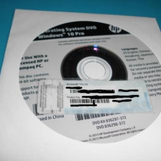 Windows 10 Pro 64bitDVD&COA1枚(PCパーツ)