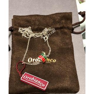 オロビアンコ(Orobianco)のオロビアンコ  ネックレス【新品未使用】(ネックレス)
