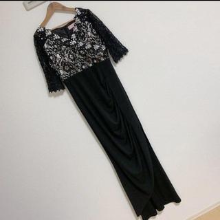 デイジーストア(dazzy store)のソブレ キャバドレス ブラック 黒 ナイトドレス(ナイトドレス)