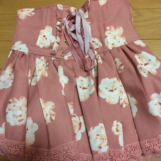 リズリサ(LIZ LISA)のリズリサ花柄スカートさきさんお取り置き(ミニスカート)