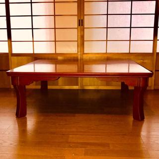 座卓 (2) 後藤塗 昭和初期 アンティーク(漆芸)