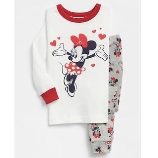ベビーギャップ(babyGAP)のbaby GAP 新品 80cmパジャマセット ミニーマウス(パジャマ)