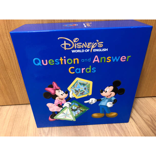 Disney - ディズニー英語システム Q&Aカード SDカード付き