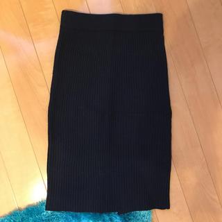 ジーユー(GU)のGU ニットスカート(ひざ丈スカート)