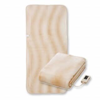 電気毛布 電気敷き毛布ボア 電気敷毛布 ロングサイズ ボア 洗濯可 ベージュ(電気毛布)