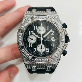 オーデマピゲ(AUDEMARS PIGUET)のオーデマピゲ ロイヤルオーク フルダイヤ(腕時計(アナログ))