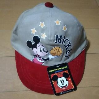ディズニー(Disney)のミッキー キャップ(帽子)