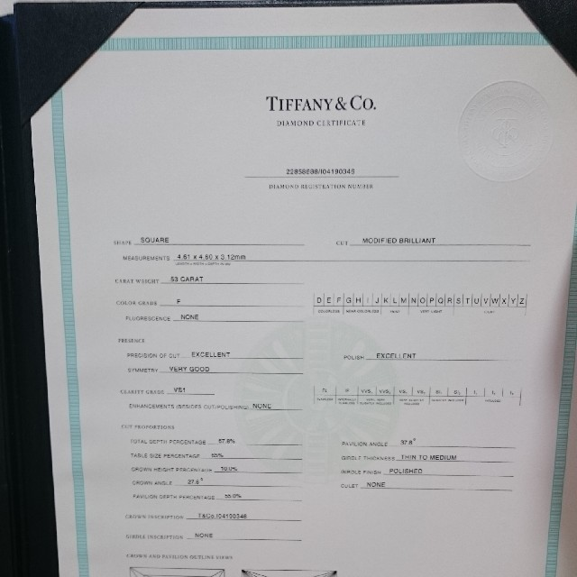 Tiffany & Co.(ティファニー)の最終価格  ティファニー   ダイヤリング   レディースのアクセサリー(リング(指輪))の商品写真