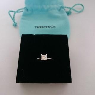 ティファニー(Tiffany & Co.)の最終価格  ティファニー   ダイヤリング  (リング(指輪))