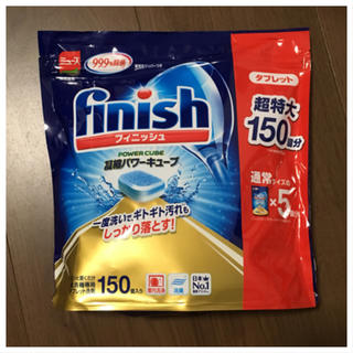 アースセイヤク(アース製薬)のフィニッシュ タブレット 食洗機 洗剤(洗剤/柔軟剤)