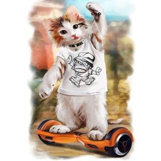 若猫ボードCat(A4額縁付きフルセット) ダイヤモンドアート(その他)