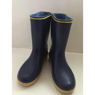 中古 ASAHI 長靴 20㎝ ブルー 青 男の子 子供 雨具(長靴/レインシューズ)