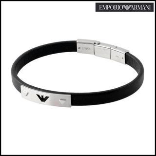 エンポリオアルマーニ(Emporio Armani)のエンポリオアルマーニ EGS2411040 レザー メンズ ブレスレットSALE(ブレスレット)