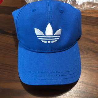 アディダス(adidas)のadidas originals TREFOIL CAP ブルー(キャップ)