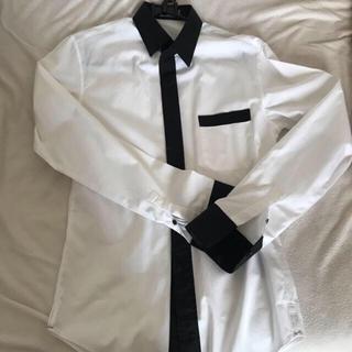 official photos 51423 2fa72 dior ディオール dior homme ワイシャツ Yシャツ シャツ 白 黒