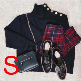 ZARA - 新品!ZARA ボタン付きセーター ブラック S