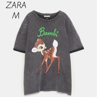 【新品・未使用】ZARA バンビ Tシャツ M