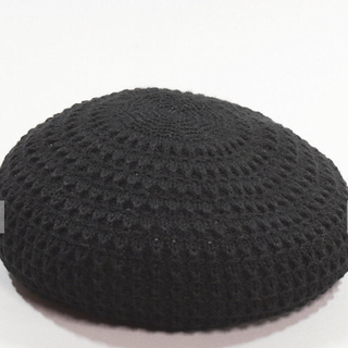 カシラ(CA4LA)のCA4LA カシラ  ベレー帽  黒  (ハンチング/ベレー帽)