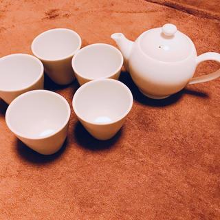 クリハラハルミ(栗原はるみ)の栗原はるみ ティーポット カップ 5個 セット(食器)