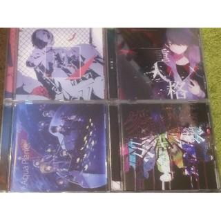 CD4枚セット窓付き@歌い手 しゃけみースタンガンS!Nしるばーな (ボーカロイド)