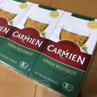 カルディ(KALDI)のコストコ CARMIEN グリーン ルイボスティー 2箱分(茶)