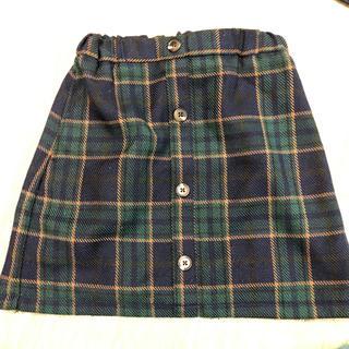 ジーユー(GU)の女の子♡スカート140(スカート)