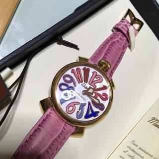 ガガミラノ(GaGa MILANO)のガガミラノ40レディース(腕時計)