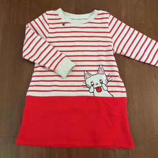グラニフ(Design Tshirts Store graniph)の美品 ♪ グラニフ ノンタン ワンピース size 110(ワンピース)