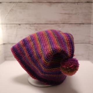 可愛い 猫耳風の可愛いニット帽(帽子)